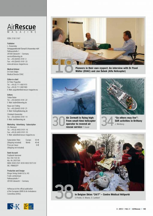 AirRescue Magazine - EUROPEAN HEMS