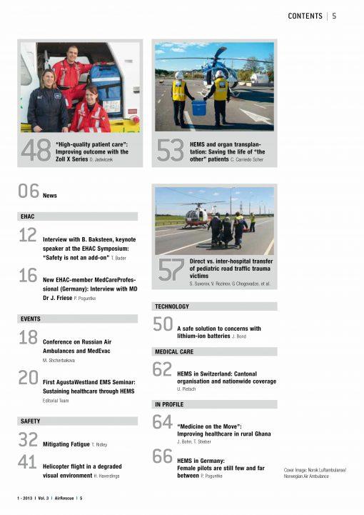 AirRescue Magazine - SAFETY