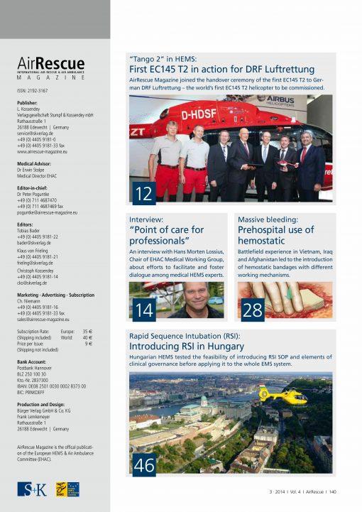 AirRescue Magazine - EC145 TANGO 2