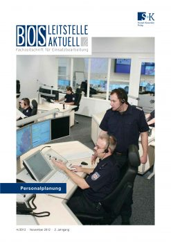BOS LEITSTELLE AKTUELL 4/2012 - Personalplanung