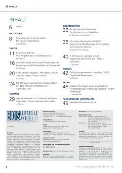 BOS LEITSTELLE AKTUELL 4/2015 - Stabsarbeit