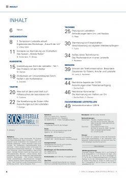 BOS LEITSTELLE AKTUELL 1/2016 - Zusammenarbeit und Kooperation