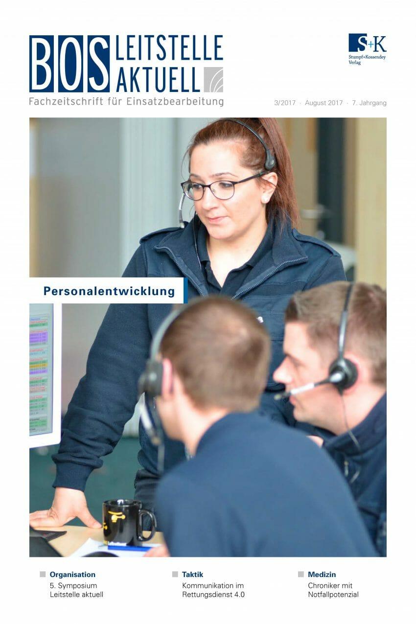 BOS LEITSTELLE AKTUELL 3/2017 - Personalentwicklung