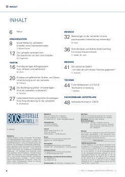 BOS LEITSTELLE AKTUELL 1/2018 - Terror- und Amoklagen