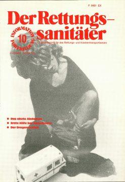 Der Rettungssanitäter 10/1981