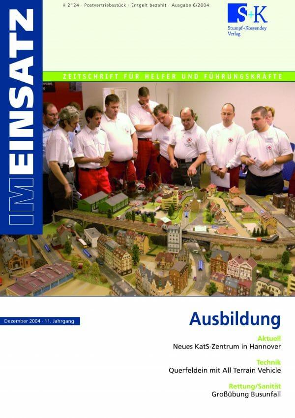 IM EINSATZ 06/2004 - Eine Investition in die Zukunft