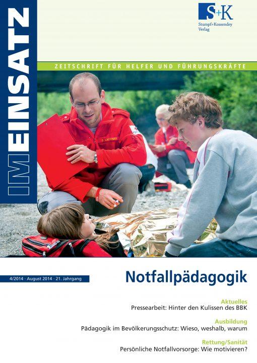 IM EINSATZ 04/2014 - Pädagogik im Bevölkerungsschutz