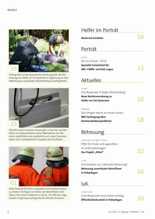 IM EINSATZ 03/2018 - Polizeilagen