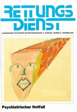 RETTUNGSDIENST 12/1985