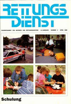 RETTUNGSDIENST 04/1988