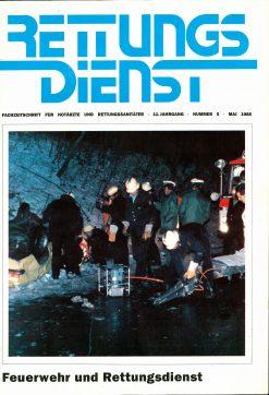 RETTUNGSDIENST 05/1988