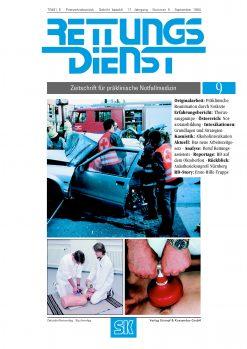 RETTUNGSDIENST 09/1994