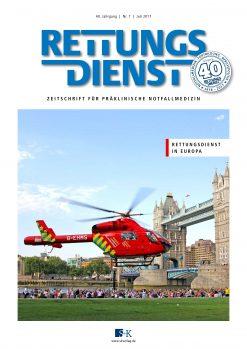 Rettungsdienst 7/2017 - Rettungsdienst in Europa