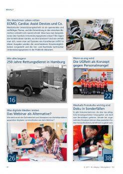 Rettungsdienst 8/2017 - Kardiale Unterstützungssysteme