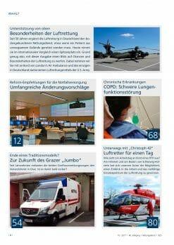 Rettungsdienst 10/2017 - Luftrettung