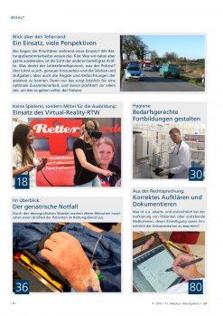Rettungsdienst 4/2018 - Ein Notfall – viele Perspektiven