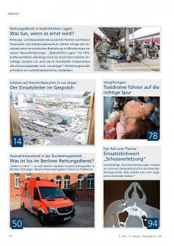 Rettungsdienst 5/2018 - Bedrohliche Lagen
