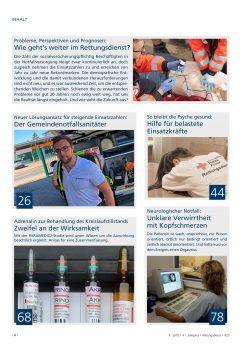 Rettungsdienst 9/2018 - Perspektiven und Prognosen