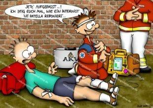 OLAF-Cartoon - patella