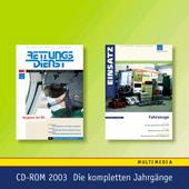 Jahres-CD 2003 - RETTUNGSDIENST, IM EINSATZ